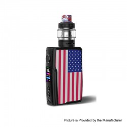 [Ships from HongKong 2] Authentic Vandy Vape Swell 188W VW Variable Wattage Box Mod + Tank Waterproof Kit - US, 5~188W, 2 x18650