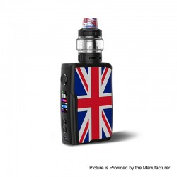 [Ships from HongKong 2] Authentic Vandy Vape Swell 188W VW Variable Wattage Box Mod + Tank Waterproof Kit - UK, 5~188W, 2 x18650