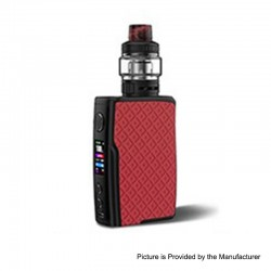 [Ships from HongKong 2] Authentic Vandy Vape Swell 188W VW Box Mod + Tank Waterproof Kit - Red Arowana, 5~188W, 2 x 18650