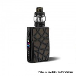 [Ships from HongKong 2] Authentic Vandy Vape Swell 188W VW Mod + Tank Waterproof Kit - Brown Alligator Snapper, 5~188W, 2 x18650