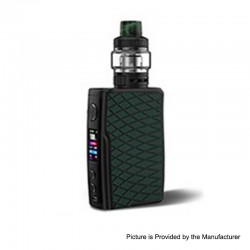 [Ships from HongKong 2] Authentic Vandy Vape Swell 188W VW Box Mod + Tank Waterproof Kit - Green Anaconda, 5~188W, 2 x 18650