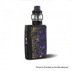 [Ships from HongKong 2] Authentic Vandy Vape Swell 188W VW Box Mod + Tank Waterproof Kit - Violet, 5~188W, 2 x 18650