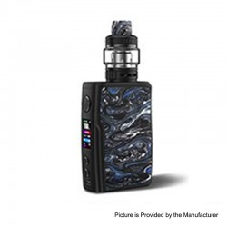 [Ships from HongKong 2] Authentic Vandy Vape Swell 188W VW Box Mod + Tank Waterproof Kit - Rock Black, 5~188W, 2 x 18650