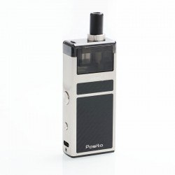 Authentic Smoant Pasito 25W 1100mAh Mod Pod System Starter Kit - Silver, 3ml