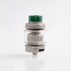 [Ships from HongKong 2] Authentic Vandy Vape Kylin V2 RTA Rebuildable Tank Atomizer - Frosted Grey, 5ml, 24mm Diameter