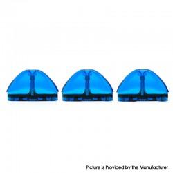Authentic Vzone Scado Pod System Replacement Pod Cartridge - Royal Blue, Plastic, 3ml (3 PCS)