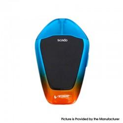 Authentic Vzone Scado 500mAh Pod System Starter Kit - Aqua & Orange, Zinc Alloy + PC, 1.2ohm, 3ml