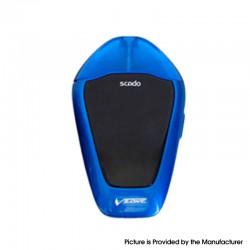 Authentic Vzone Scado 500mAh Pod System Starter Kit - Royal Blue, Zinc Alloy + PC, 1.2ohm, 3ml