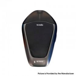 Authentic Vzone Scado 500mAh Pod System Starter Kit - Gun Metal, Zinc Alloy + PC, 1.2ohm, 3ml