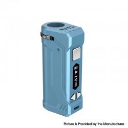 Authentic Yocan UNI Pro 650mAh VV Variable Voltage Box Mod - Airy Blue, 2.4V~4.2V