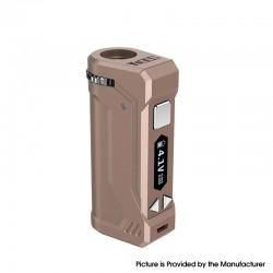 Authentic Yocan UNI Pro 650mAh VV Variable Voltage Box Mod - Dark Champagne, 2.4V~4.2V