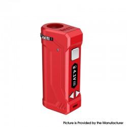 Authentic Yocan UNI Pro 650mAh VV Variable Voltage Box Mod - Red, 2.4V~4.2V