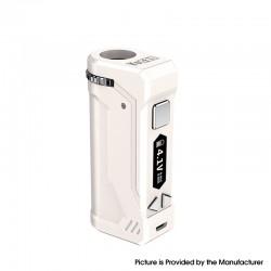 Authentic Yocan UNI Pro 650mAh VV Variable Voltage Box Mod - White, 2.4V~4.2V