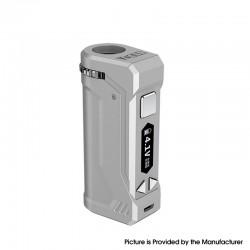 Authentic Yocan UNI Pro 650mAh VV Variable Voltage Box Mod - Silver, 2.4V~4.2V