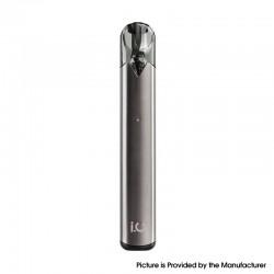 Authentic Innokin I.O 310mAh Pod System AIO Starter Kit - Gun Metal, Stainless Steel, 0.8ml, 1.4ohm