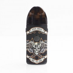 Authentic Vapefly Jester 1000mAh Rebuildable Pod System Starter Kit DIY Pod Version - Skull, 2ml, 0.5ohm