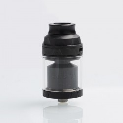 Authentic Augvape Intake Dual RTA Rebuildable Tank Atomizer - Black, Stainless Steel, 4.2ml / 5.8ml, 26mm Diameter