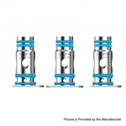 [Ships from HongKong 2] Authentic Aspire Breeze NXT Pod System Replacemnt Coil Head - Silver, 0.8ohm (15~20W) (3 PCS)