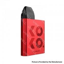 Authentic Uwell Caliburn KOKO 11W 520mAh Pod System Box Mod Starter Kit - Red, Aluminum Alloy + PCTG, 2ml, 1.4ohm