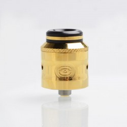 Authentic Augvape Occula RDA Rebuildable Dripping Atomizer w/ BF Pin - Gold, Stainless Steel, 24mm Diameter
