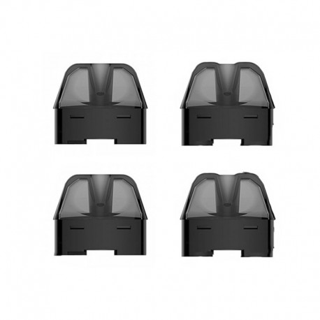 Authentic VOOPOO Find Trio Pod System Replacement Pod Cartridge - 3ml (4 PCS)