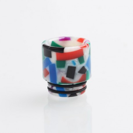 Authentic Reewape AS116D Replacement 810 Drip Tip for SMOK TFV8 / TFV12 Tank / Kennedy - Multiple Color, Resin, 18mm