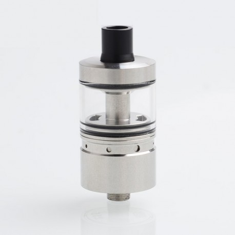 SXK Lord Style MTL RTA Rebuildable Tank Atomizer - Silver, 316 Stainless Steel + Glass, 4ml, 22mm Diameter