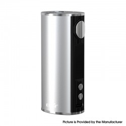 Authentic Eleaf iStick T80 80W 3000mAh VW Variable Wattage Battery Box Mod - Silver, Aluminum Alloy, 1~80W