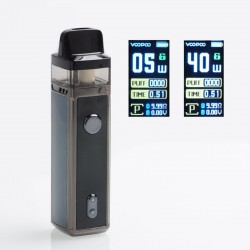 Authentic VOOPOO VINCI 40W 1500mAh VW Mod Pod System Starter Kit - Space Gray, 5~40W, 5.5ml (Standard Edition)