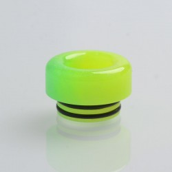 Authentic Reewape AS181 Replacement 810 Drip Tip for SMOK TFV8 / TFV12 Tank / Kennedy - Yellow, Resin, 11mm