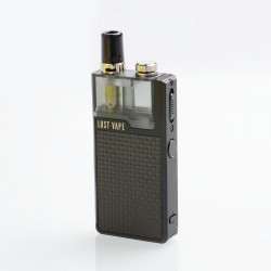 Authentic Lost Vape Orion Plus DNA 22W 950mAh VW Pod System Starter Kit - Black-Textured, 0.25 / 0.5ohm, 2ml
