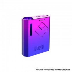 Authentic Yocan Wit 500mAh Battery Box Mod for 510 Thread Atomizer - Blue Purple Gradient