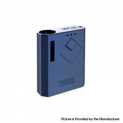 Authentic Yocan Wit 500mAh Battery Box Mod for 510 Thread Atomizer - Pearl Blue