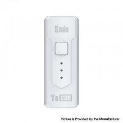 Authentic Yocan Kodo 400mAh Battery Box Mod for 510 Thread Atomizer - White, PC