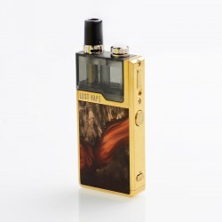 Authentic Lost Vape Orion Plus DNA 22W 950mAh VW Pod System Starter Kit - Gold-Stabwood, 0.25 / 0.5ohm, 2ml