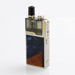 Authentic Lost Vape Orion Plus DNA 22W 950mAh VW Pod System Starter Kit - Silver-Stabwood, 0.25 / 0.5ohm, 2ml