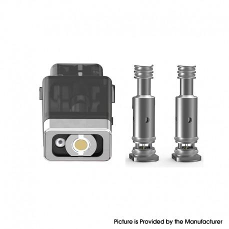 Authentic Smoant Battlestar Baby Pod Kit Replacement Pod Cartridge + w/ 0.6ohm Mesh + 1.2ohm Ni80 Coil - Black