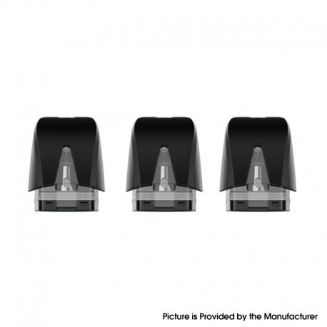 Authentic OBS Prow Pod Kit Replacement Pod Cartridge w/ 1.4ohm Coil - Black, PCTG, 1.5ml (3 PCS)