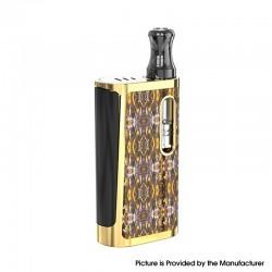 Authentic Kangvape Klasik V2 650mAh VV Box Mod E-Cigarette Starter Kit w/ K5 Atomizer - Gold, Zinc Alloy, 0.5ml