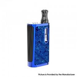 Authentic Kangvape Klasik V2 650mAh VV Box Mod E-Cigarette Starter Kit w/ K5 Atomizer - Blue, Zinc Alloy, 0.5ml