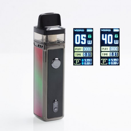 Authentic VOOPOO VINCI 40W 1500mAh VW Mod Pod System Starter Kit - Aurora, 5~40W, 5.5ml (Standard Edition)