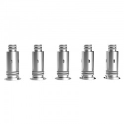 Authentic Sbody MYPOD Pod System Replacement Mesh Coil Head - Silver, 0.8 ohm (5 PCS)