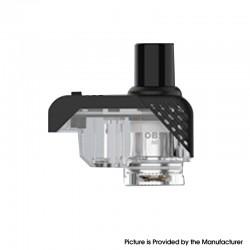 Authentic OBS Alter Pod System Replacement Sub-Ohm Base Pod Cartridge w/o Coils - Black + Transparent, 2 / 3.5ml (2 PCS)