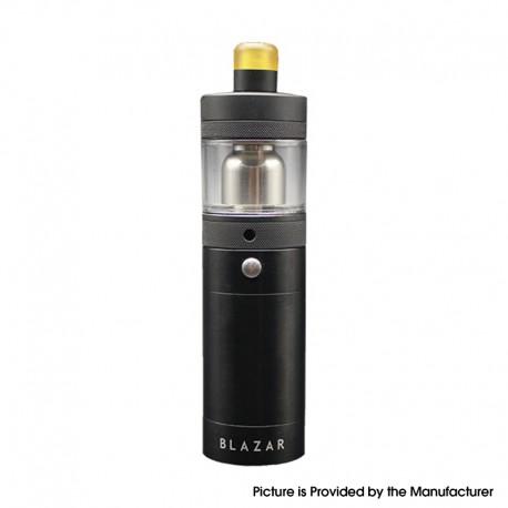 Authentic CoilART Blazar Mosfet Semi-Mechanical Tube Mod + MTL RTA Kit - Black, Stainless Steel, 4.0ml, 1 x 18350