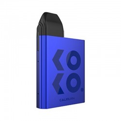 Authentic Uwell Caliburn KOKO 11W 520mAh Pod System Box Mod Starter Kit - Blue, Aluminum Alloy + PCTG, 2ml, 1.4ohm