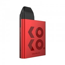 Authentic Uwell Caliburn KOKO 11W 520mAh Pod System Box Mod Starter Kit - Red, Aluminum Alloy + PCTG, 2ml, 1.4ohm