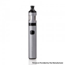 Authentic Innokin Endura 18W 1500mAh Battery w/ Prism T20-S Sub-Ohm Tank Starter Kit - Gray, Stainless Steel, 2ml, 20mm Diameter
