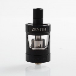 Authentic Innokin Zenith MTL Sub Ohm Tank Atomizer - Black, Stainless Steel, 4ml, 24.7mm Diameter