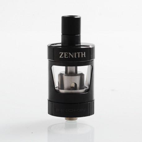 Authentic Innokin Zenith MTL Sub Ohm Tank Atomizer - Black, Stainless Steel, 4ml, 24.7mm Diameter