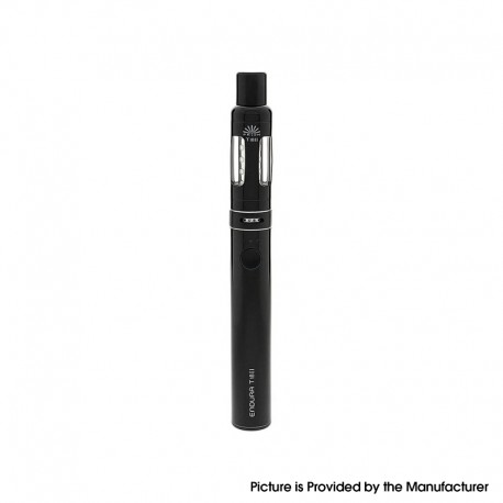 Authentic Innokin Endura 13.5W 1300mAh Vape Pen w/ Prism T18 II Sub-Ohm Tank Starter Kit - Black, SS, 2.5ml, 1.5ohm, 18mm Dia.